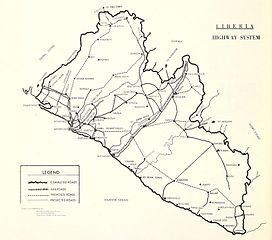 FileUSDOC Liberia Map Highway Systemjpg Wikimedia Commons - Us map doc