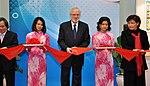 U.S. Ambassador David Shear opens safe medicine exhibition in Hanoi (6639717751).jpg