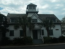 U.S. Coast Guard Historic District, Sullivans Island, South Carolina - lifesaving station quarters.JPG