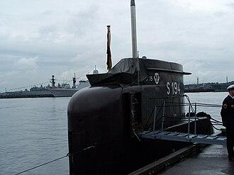 Type 206 submarine - U15 at Kiel Week 2007.