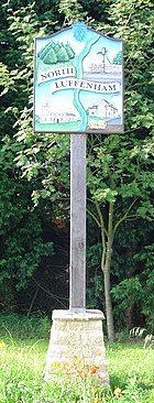 Signpost in North Luffenham
