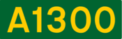 A1300 road shield