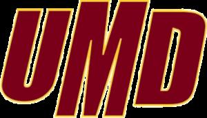 Minnesota–Duluth Bulldogs men's ice hockey - Image: UMD Athletics wordmark