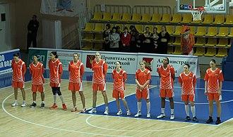 UMMC Ekaterinburg - Basketball team in 2012