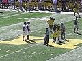 UMass vs. Michigan football 2012 02 (coin toss).jpg