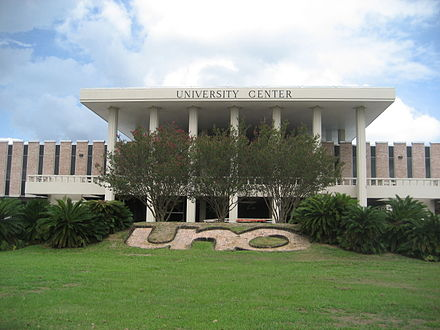University of New Orleans UNO University Center Front.JPG