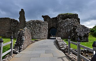 Urquhart Castle - The remains of the gatehouse