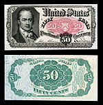 fifty-cent fifth-issue fractional note