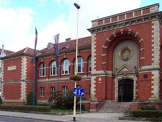 University of Szczecin - Image: US Budynek Rektoratu