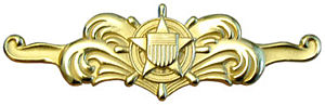 Surface warfare insignia - Cutterman insignia – officer