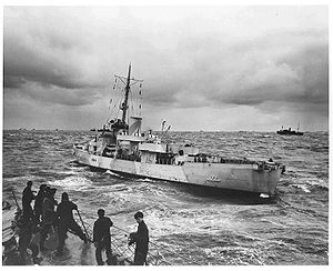 USCGC Spencer (WPG-36) - Spencer during WWII