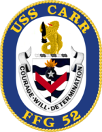 USS Carr FFG-52 Crest.png
