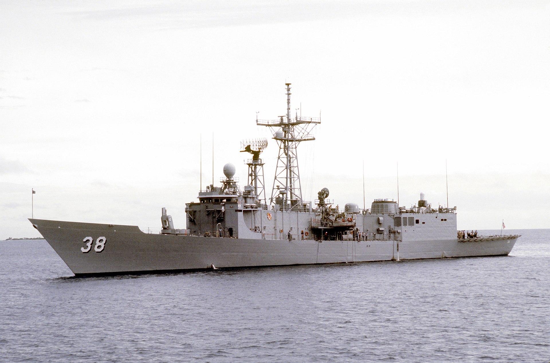 USS Curts FFG-38