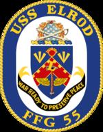 USS Elrod FFG-55 Crest