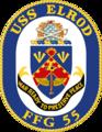 USS Elrod FFG-55 Crest.png