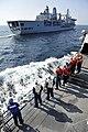 USS Jason Dunham approaches RFA Fort Victoria. (8364956108).jpg