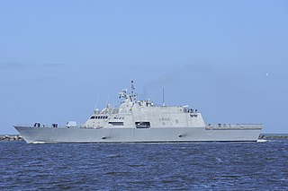 USS <i>Milwaukee</i> (LCS-5) Freedom-class littoral combat ship of the US Navy