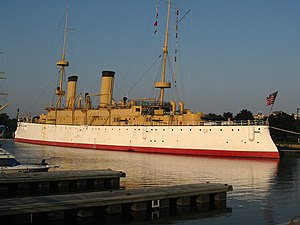 Independence Seaport Museum - The USS Olympia at Penn's Landing