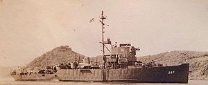 USS Refresh (AM-287) - Image: USS Refresh