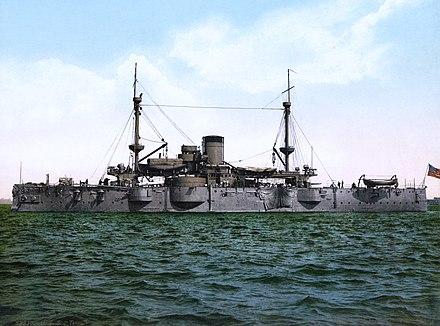 USSテキサス、米海軍の最初の戦艦。