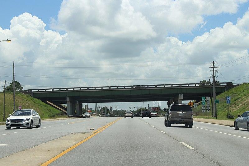 File:US 82 Overpass at N Slappey Blvd, Albany.jpg