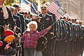 US Coast Guard families and service members march in New York City's Veterans Day Parade (Image 4 of 7) (10820800325).jpg
