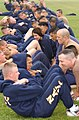 US Navy 030523-N-1485H-003 Seabees conduct their sit-up portion of the Navy Physical Readiness Test.jpg