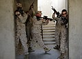 US Navy 081120-N-6278K-383 Marines seize a building during bilateral urban assault training.jpg