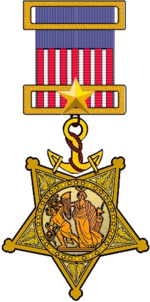 Civil War era Navy Medal of Honor
