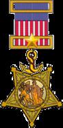 US Navy Medal of Honor (1862 original)