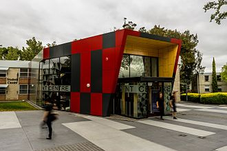 University of Tasmania - Recently completed UTAS Student Centre, Newnham Campus, Launceston
