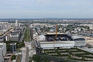 U Arena - Image: U Arena @ Nanterre @ Rooftop observatory @ Grande Arche @ La Défense @ Paris (34797770160)