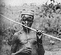 Uele musical instrument, Belgian Congo.jpg