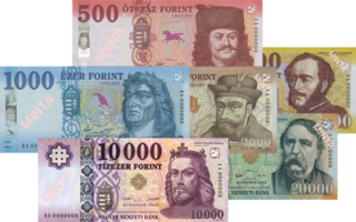 Hungarian forint currency