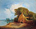 Ujházy Landscape with the Lake Balaton 1860.jpg