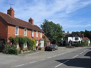 Ullenhall village and civil parish in Warwickshire, England