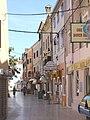 Umag, die Straße Ulica Giuseppe Garibaldi.jpg