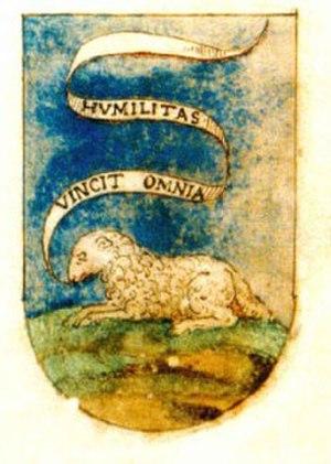 Humiliati - Coat of Arms of the Humiliati Order