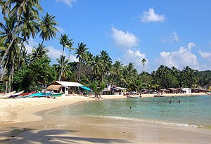 Economy of Sri Lanka - Unawatuna Beach