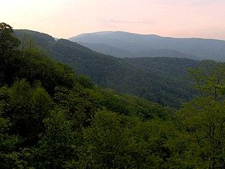 Unicoi Mountains mountain range in North Carolina, United States