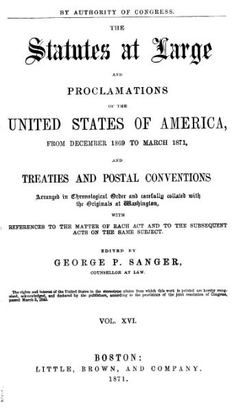 File:United States Statutes at Large Volume 16.djvu
