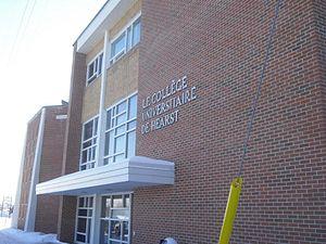 Hearst, Ontario - University of Hearst, Hearst campus
