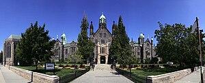Trinity College, Toronto - Main building of Trinity College, southern facade on Hoskin Avenue