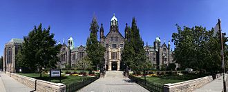 Trinity College, Toronto - Main building of Trinity College, southern facade on Hoskin Avenue