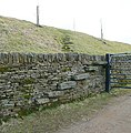 Unusual stile at Back Heights, Thornton - geograph.org.uk - 1748547.jpg