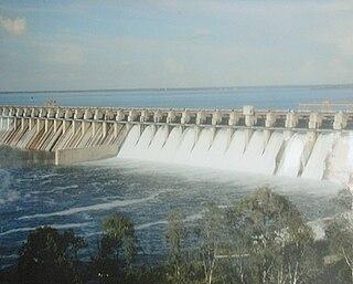Ujjani Dam dam in India