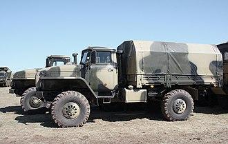 Ural-4320 - Ural-43206 4x4
