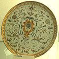Urbino, bottega dei fontana, alzata, xvi sec.JPG