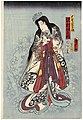 Utagawa Kunisada II - Actor Sawamura Tanosuke III as Ôtomo Wakana-hime.jpg