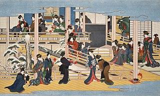 Shinagawa no Tsuki, Yoshiwara no Hana, and Fukagawa no Yuki